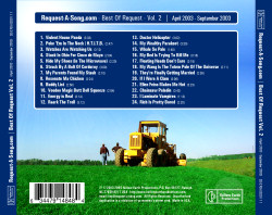 Request-A-Song.com 2005 CD Tray Card